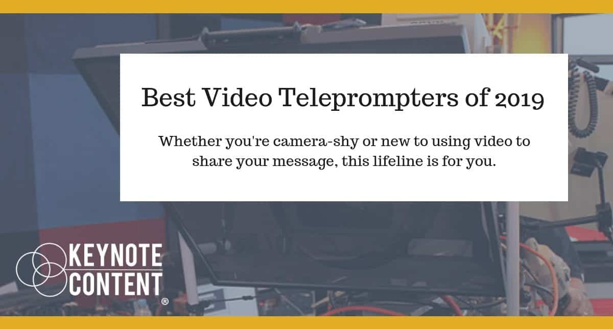 Best Video Teleprompters of 2019