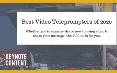 Best Video Teleprompters of 2020